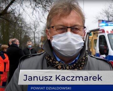 Powiat Działdowski zakupił nowoczesną karetkę dla działdowskiego SP ZOZ (film)