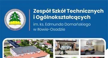 Zespół Szkół Technicznych i Ogółnokształcących w Iłowie-Osadzie – Kształć się i zdobądź upragniony zawód!