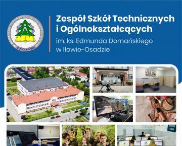 Zespół Szkół Technicznych i Ogółnokształcących w Iłowie-Osadzie - Kształć się i zdobądź upragniony zawód!