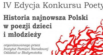 """Uczennica LO w Lidzbarku zdobywczynią III miejsca w konkursie ,,Historia najnowsza Polski w poezji dzieci i młodzieży""""!"""