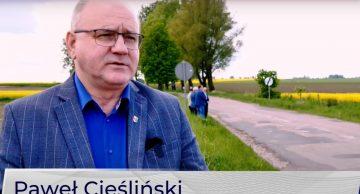 Rozpoczynamy przebudowę drogi powiatowej nr 1365N Kurki- Petrykozy, etap I! (film)