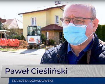 Już wkrótce rozpoczniemy przebudowę drogi powiatowej  1587 N (ul. Leśna)!  - film
