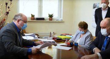 Pomoc finansowa Gminy Rybno na rzecz działdowskiego SP ZOZ (film)