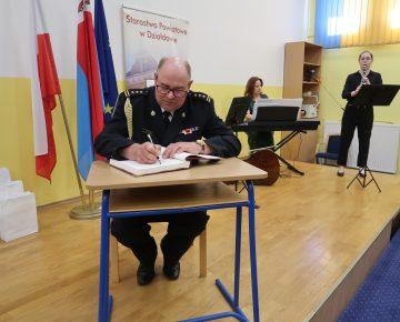 Starszy brygadier Bogdan Cywiński wyróżniony tytułem: Osobowość Powiatu Działdowskiego!