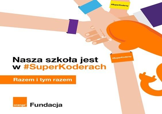 Szkoła Podstawowa im. Henryka Sienkiewicza w  Niechłoninie rozpocznie zajęcia w Programie #SuperKoderzy