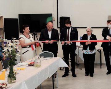 Uroczyste otwarcie wyremontowanych siedzib: Dziennego Domu Seniora w Rybnie i Klubu Seniora w Tuczkach (film)