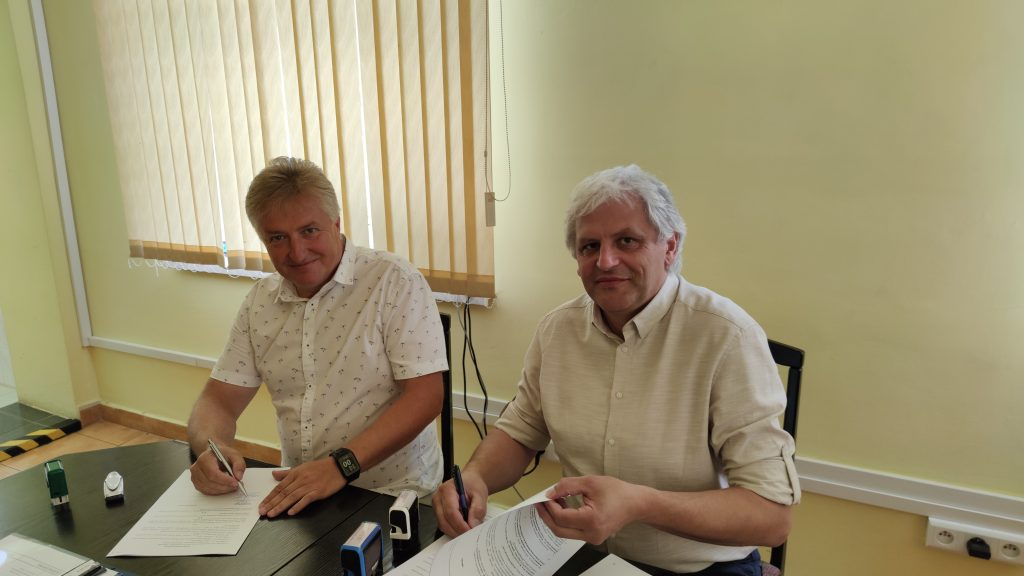 Podpisanie umowy na budowę oczyszczalni ścieków w Malinowie