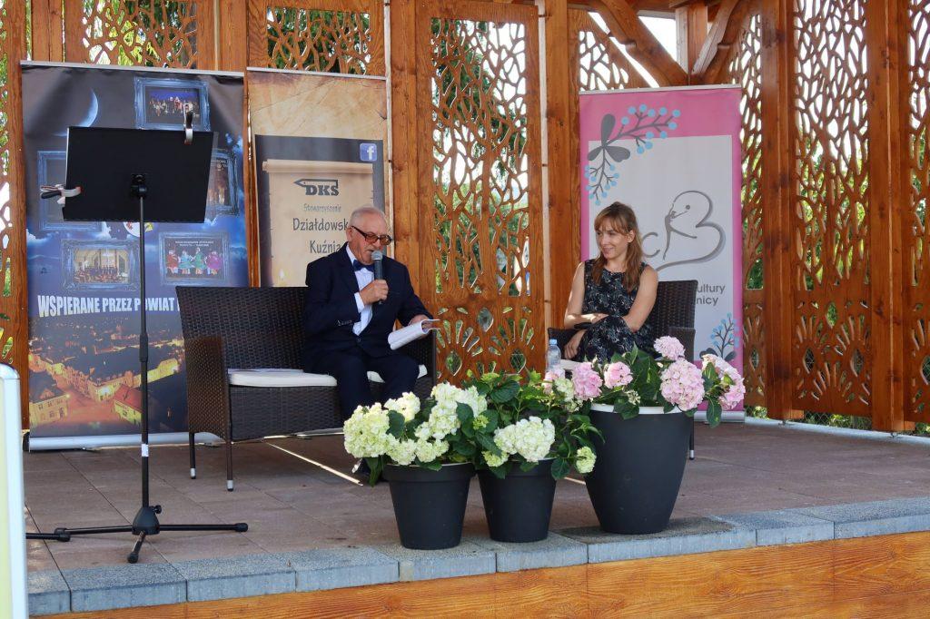 Spotkanie z Lidią Sadową i Edwinem Kłosowskim w ramach Powiatowych Wieczorów z Poezją