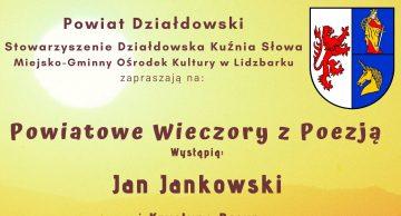 Zaproszenie na trzecie spotkanie w ramach Powiatowych Wieczorów z Poezją