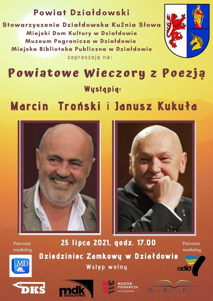 Zaproszenie na czwarte spotkanie w ramach Powiatowych Wieczorów z Poezją