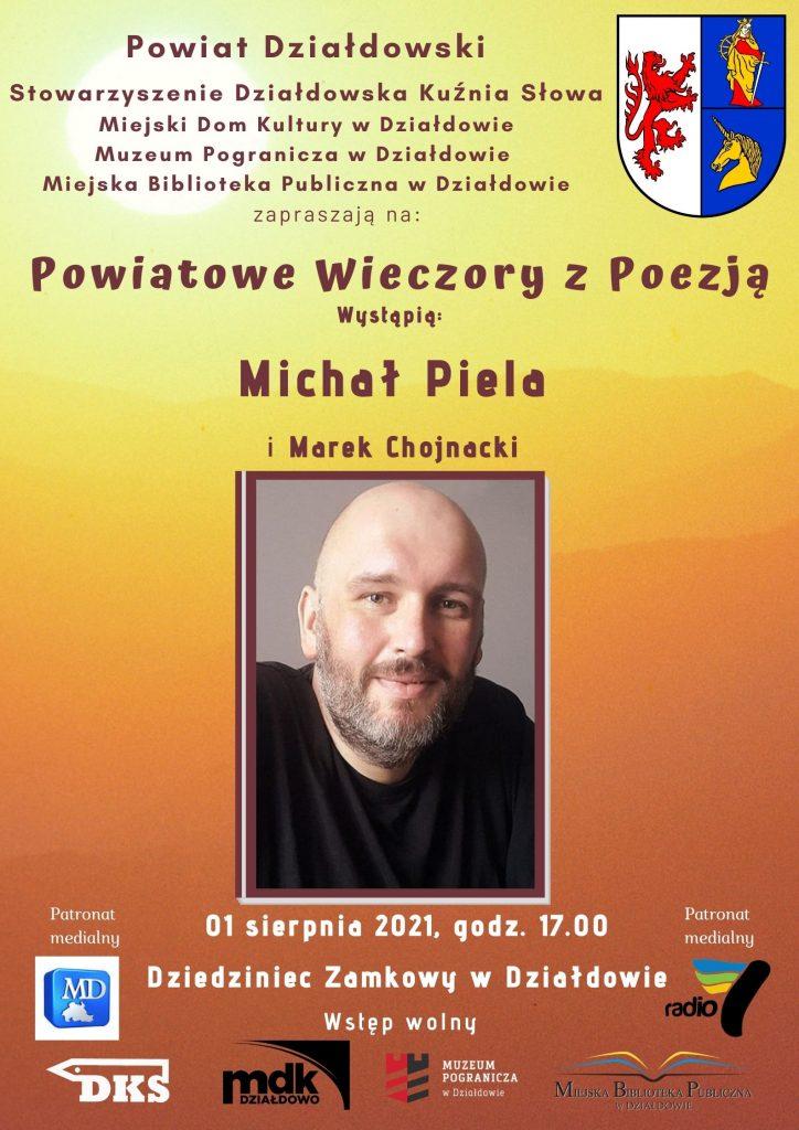 Zaproszenie na piąte spotkanie w ramach Powiatowych Wieczorów z Poezją