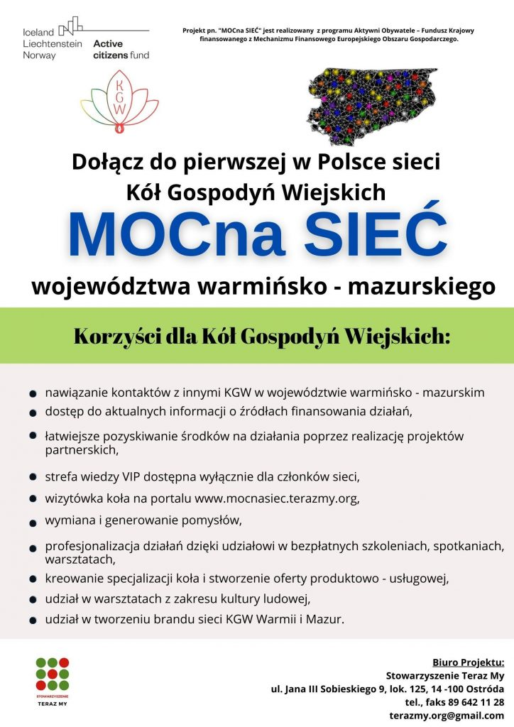 Dołącz do pierwszej w Polsce sieci Kół Gospodyń Wiejskich!