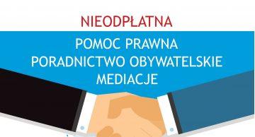 Świadczenia nieodpłatnej pomocy prawnej dla Powiatu Działdowskiego