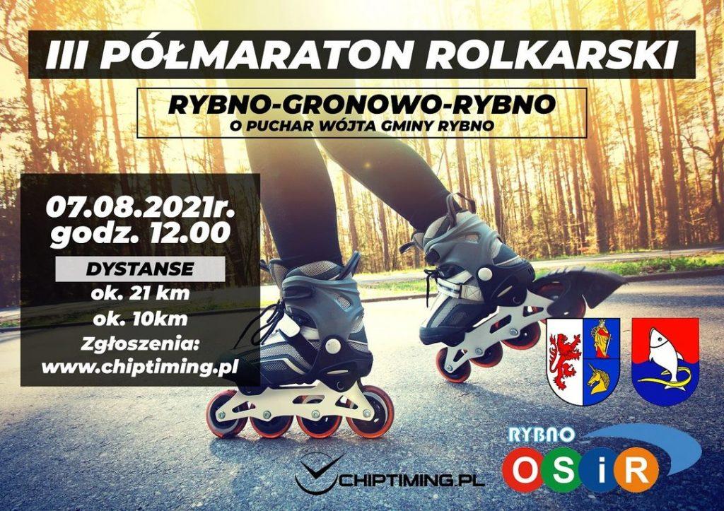 Zaproszenie do udziału w III Półmaratonie Rolkarskim
