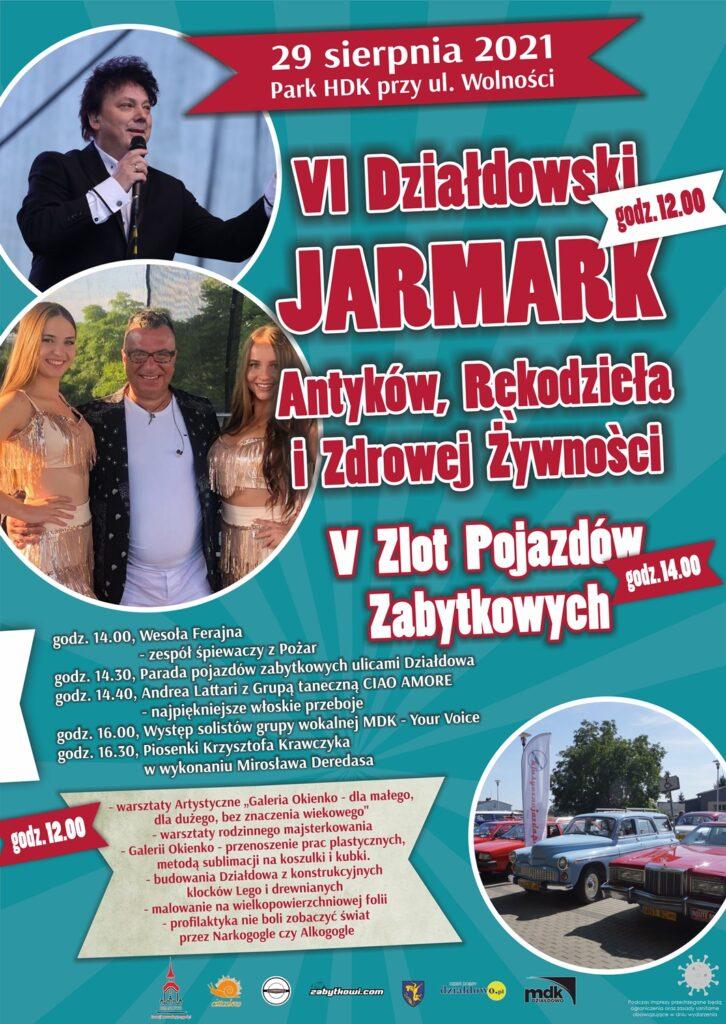 Już wkrótce VI Działdowski Jarmark Antyków, Rękodzieła i Zdrowej Żywności!