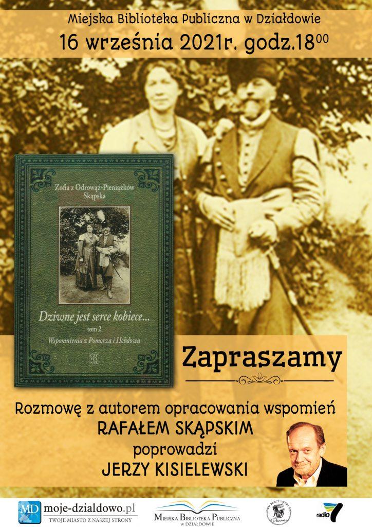 Zaproszenie na spotkanie z Rafałem Skapskim