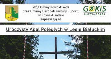 Zaproszenie na uroczysty Apel Poległych