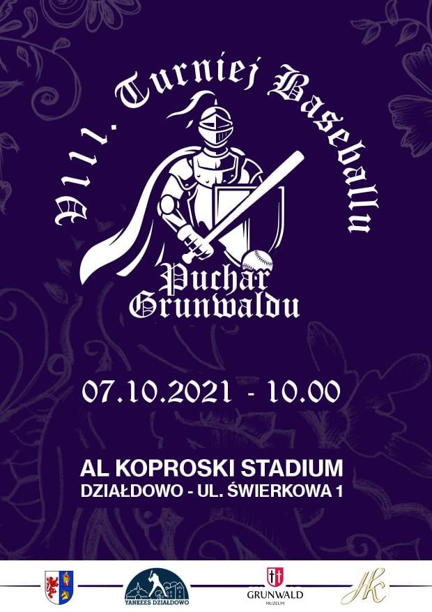 Zaproszenie na VIII Turniej Baseballu o Puchar Grunwaldu