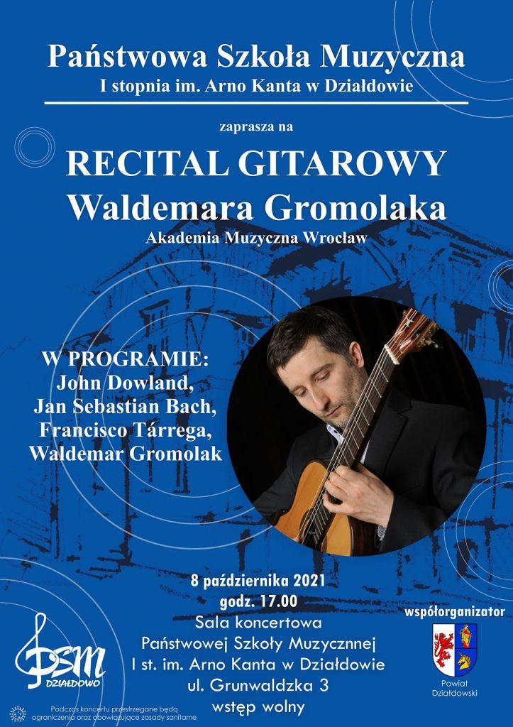 Zaproszenie na recital gitarowy