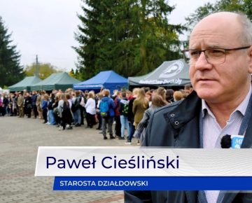 Hubertus w iłowskim Zespole Szkół Ogólnokształcących i Technicznych (film)