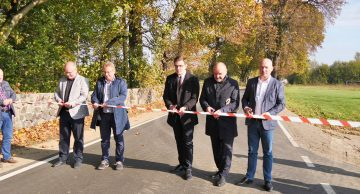 Odbiór końcowy remontu (odnowy) drogi powiatowej nr 1255N gr. powiatu – Tuczki (film)