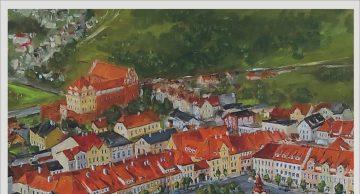 Zaproszenie na wystawę malarstwa J. A. Walaska